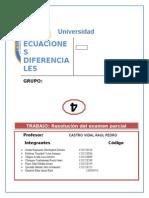 Parcial Ecuaciones Diferenciales 2015B 1