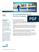 Cisco and the Applied Group Point of View