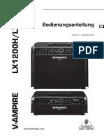 Behringer v-Amp - Lx210 p0340 m De