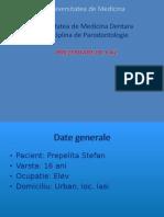 Proiect-pacient