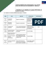 Programa de Capacitacion[1] SANEAMIENTO