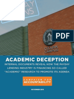 Academic Deception