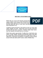 History of Mother Dairy