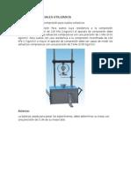 Equipos y Materiales Utilizados Para Deformacion
