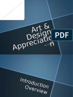 1. VCS105 - ART AND DESIGN APPRECIATION
