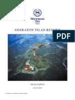 Sheraton Yilan Investment Memorandum 2010