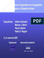 Gobierno Corporativo. Presentación IAGO KPMG Código Buenas Prácticas (1)