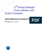 SMcli and Script Commands Quick Reference for SANtricity Ver 9.25 ES1790-0-E1