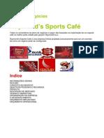 Exemplo Plano de Negocio Sports Cafe