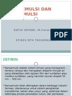 Mikroemulsi Dan Nanoemulsi