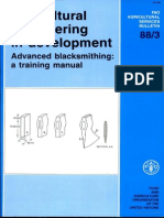 Agricultural Engineering in Development - Advanced Blacksmithing Training Manual