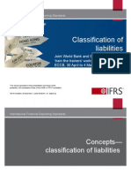1. Classification of Liabilities