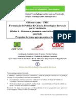 Oficina 1 Antac Cbic 2011 - Temas e Agenda Próximos Anos V.