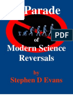 A Parade of Modern Science Reversals