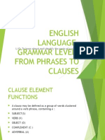 FROM PHRASES TO CLAUSES.ppt