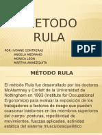 METODO RULA 15-05-2015