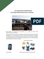 Informe de Practica Unidad Basica de Perforacion