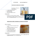 Especial Smoothies y Zumos Thermomix