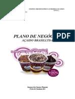 Plano de Negócios - Açaí Do Brasil