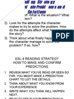 ESL 4 READING STRATEGY  NOTES