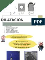 DILATACIÓN