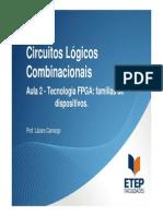 Eletrônica Embarcada - Aula 02 - Familias de Dispositivos FPGA