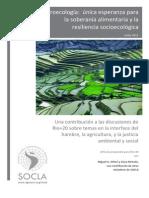 Agroecología Única Esperanza LIBRO