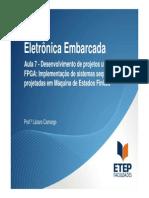 Eletrônica Embarcada - Aula 7- Proj Maquina de Estados Finitos