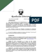 Aprobar Uso Obligatorio PlanContableGub2009