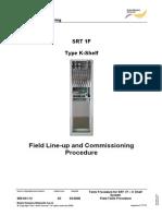 SRT 1F K-shelf Tests Procedure
