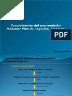 Competencias Del Emprendedor Módulos Plan de Negocios y Finanzas