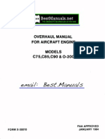 4746613-Continental C75 C85 C90 O-200 Engine Overhaul Manual