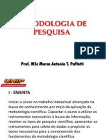 Metodologia de Pesquisa 9-10sem UNIP