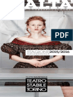 Teatro Stabile Torino Avantprogramme 2015-2016