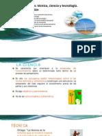 Capítulo 1 Conceptos Técnica, Ciencia y Tecnología. Tecnología e Innovación