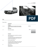 Audi Summary