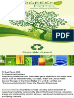 Green Hotel and Energy Strategy