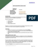 Carta Descriptiva Induccion