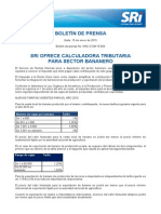 4 SRI OFRECE CALCULADORA TRIBUTARIA  PARA SECTOR BANANERO .pdf