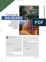 Cocina Balneario Termas Pallarés Revista Club Gourmets