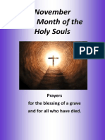 prayers for the dead and blessing of a grave