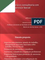 Assessoria e Consultoria Em Serviço Social - CRESS RJ - 2015
