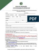 XXVII Encontro Veteranos FEB Inscrição