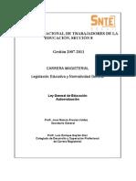 AUTOEVALUACIÓN Ley General de Educ.