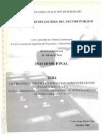 La organización de los servicios administrativos financieros en el Gobierno de la Ciudad Autónoma de Buenos Aires en el marco de la Ley Nº 70.