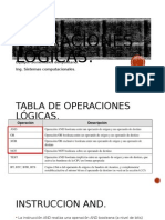 2.12 Operaciones Logicas