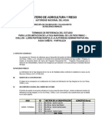 TDR Estudio Faja Marginal Cañete Fortaleza 2.0