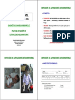 Pauta de Detección de Alteraciones Neuromotoras