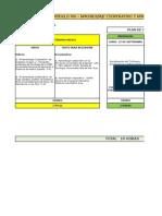 Cronograma y Rúbrica Paralelo 1