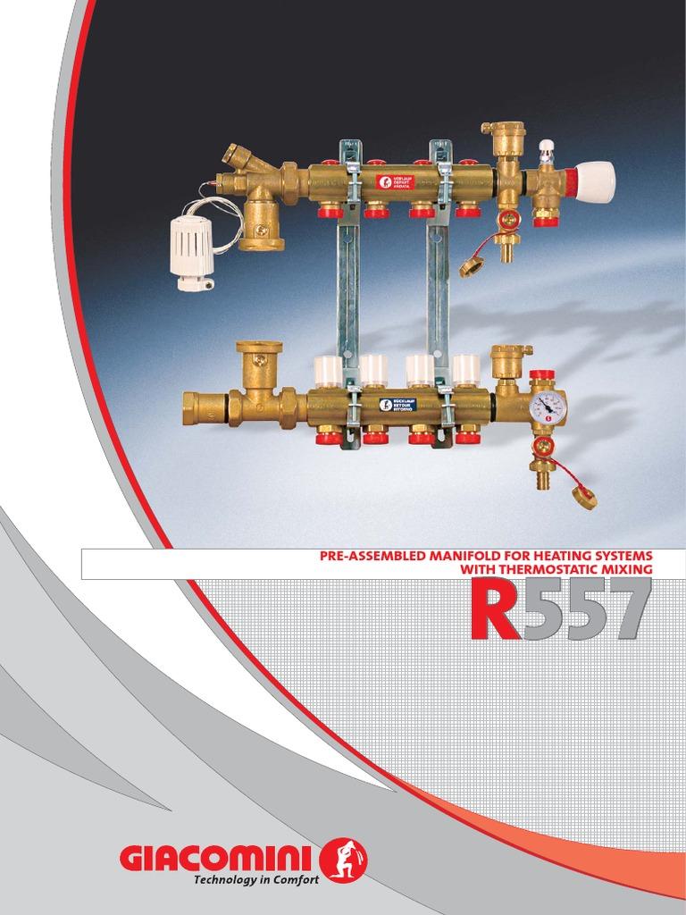 Giacomini r557 инструкция